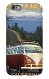 Lake Tahoe, California - VW Coastal Drive iPhone 6 Plus Case by  Lantern Press
