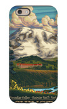 Paradise Inn, Mt. Rainier National Park, Washington iPhone 6s Case by  Lantern Press