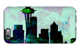 Seattle City Skyline iPhone 6s Plus Case by  NaxArt