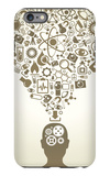 Human Head And Icons Of Science iPhone 6 Plus Case by  VLADGRIN