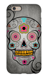 Sugar Skull iPhone 6 Case by  Lantern Press