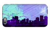 Anchorage City Skyline iPhone 6s Plus Case by  NaxArt
