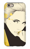 Gold iPhone 6 Case by Manuel Rebollo