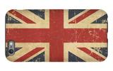 Uk Aged Flat Flag iPhone 6 Plus Case by  nazlisart