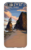 Kalaloch Beach - Olympic National Park, Washington iPhone 6s Plus Case by  Lantern Press