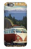 Lake Tahoe, California - VW Coastal Drive iPhone 6s Plus Case by  Lantern Press