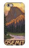 Half Dome, Yosemite National Park, California iPhone 6 Case by  Lantern Press