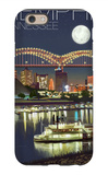 Memphis, Tennessee - Memphis Skyline at Night iPhone 6 Case by  Lantern Press