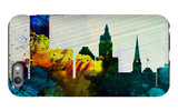 Providence City Skyline iPhone 6 Plus Case by  NaxArt