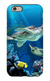 Sea Turtle Swimming iPhone 6 Case by  Lantern Press
