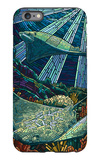 Rays - Paper Mosaic iPhone 6s Plus Case by  Lantern Press