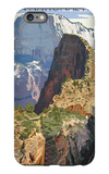 Zion National Park - Angels Landing iPhone 6s Plus Case by  Lantern Press