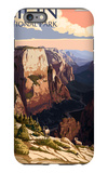 Zion National Park - Zion Canyon Sunset iPhone 6s Plus Case by  Lantern Press