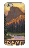 Half Dome, Yosemite National Park, California iPhone 6s Case by  Lantern Press