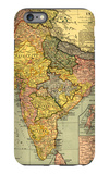 India - Panoramic Map iPhone 6s Plus Case by  Lantern Press