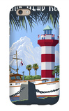 Hilton Head Island, SC - Harbour Town Lighthouse iPhone 6 Case by  Lantern Press