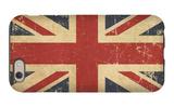 Uk Aged Flat Flag iPhone 6 Case by  nazlisart