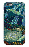 Rays - Paper Mosaic iPhone 6 Plus Case by  Lantern Press