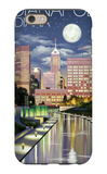 Indianapolis, Indiana - Indianapolis at Night iPhone 6s Case by  Lantern Press