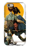 """Little Spooners"" or ""Sunset"", April 24,1926 iPhone 6 Case by Norman Rockwell"