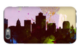 Salt Lake City Skyline iPhone 6 Plus Case by  NaxArt