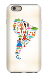 South America Love iPhone 6s Case by  Marish
