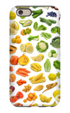 Collection Of Fruits And Vegetables iPhone 6s Case by  egal