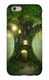 Fantasy Tree House iPhone 6 Case by  egal