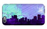 Anchorage City Skyline iPhone 6 Plus Case by  NaxArt