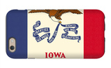 Iowa State Flag iPhone 6s Case by  Lantern Press