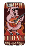 Memphis, Tennessee - Guitar Pig iPhone 6 Case by  Lantern Press