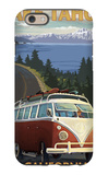 Lake Tahoe, California - VW Coastal Drive iPhone 6s Case by  Lantern Press