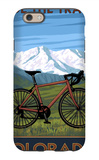 Mountain Bike - Colorado iPhone 6s Case by  Lantern Press