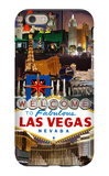 Las Vegas Casinos and Hotels Montage iPhone 6s Case by  Lantern Press