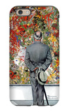 """Art Connoisseur"", January 13,1962 iPhone 6 Case by Norman Rockwell"