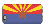 Arizona State Flag iPhone 6 Case by  Lantern Press