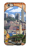San Francisco, California Scenes iPhone 6 Case by  Lantern Press