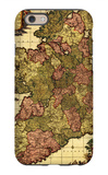 Ireland - Panoramic Map iPhone 6 Case by  Lantern Press