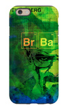 Walter White Watercolor 2 iPhone 6 Case by Anna Malkin