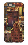 """Bird's-Eye View of New York City,"" August 17, 1946 iPhone 6 Case by John Falter"