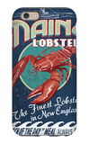Maine Lobster iPhone 6s Case by  Lantern Press
