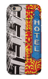 Urban Collage Hotel iPhone 6 Case by Deanna Fainelli