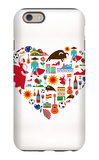 Spain Love iPhone 6 Case by  Marish