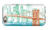 City Print Project iPhone 6 Case