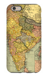 India - Panoramic Map iPhone 6 Case by  Lantern Press