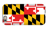 Maryland - State Flag iPhone 6s Case by  Lantern Press
