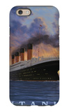 Titanic Scene - White Star Line iPhone 6 Case by  Lantern Press