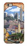 San Francisco, California Scenes iPhone 6s Case by  Lantern Press