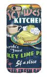 Key West, Florida - Key Lime Pie iPhone 6 Case by  Lantern Press