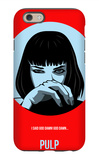 Pulp Poster 1 iPhone 6 Case by Anna Malkin